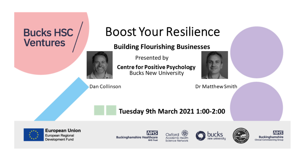Boost Your Resilience webinar